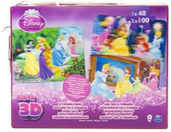 Disney Super 3D Set van 3 Puzzles 20x25cm