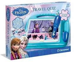 Clementoni Disney Frozen Travel Quiz Taal UK