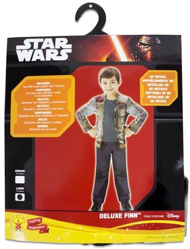 Rubies Kostuum Star Wars Deluxe Finn Large