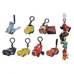 Disney Cars 3 Pluche Bagclip assorti 8cm