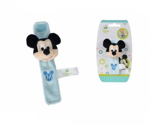 Disney Mickey Baby Pluche Arm Rammelaar 17cm