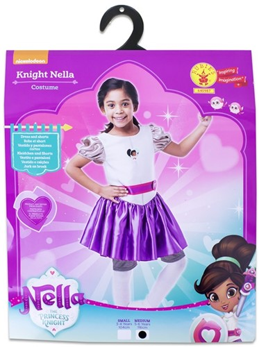 Rubies Kostuum Nella the Princess Knight Medium 5-6 116cm.