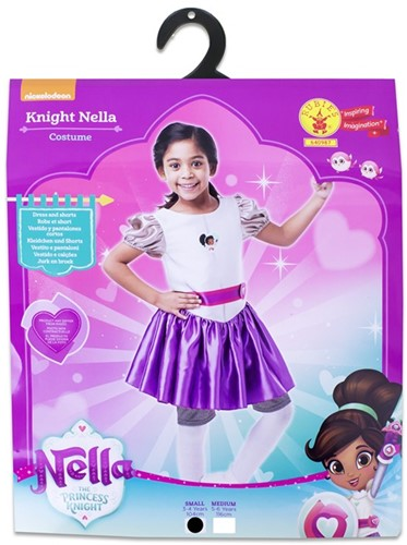 Rubies Kostuum Nella the Princess Knight Small 3-4 104cm.