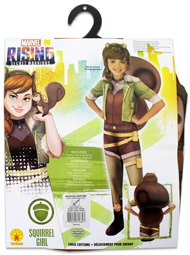 Rubies Kostuum Marvel Rising Secret Warriors Squirrel Girl Medium