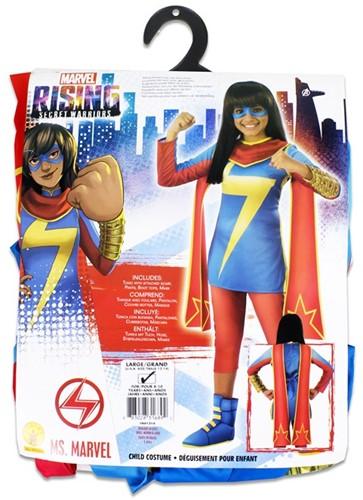Rubies Kostuum Ms. Marvel Rising Secret Warriors Large