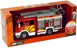Brandweerwagen met licht en geluid 20x45cm