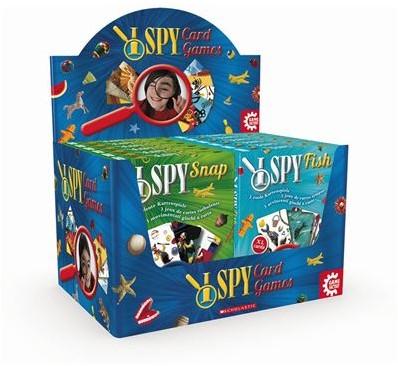 Spy Card Games assorti in display