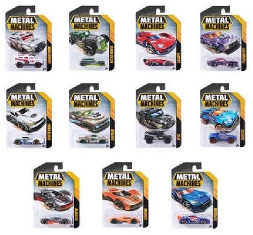 Metal Machines Die Cast Cars assorti 6cm