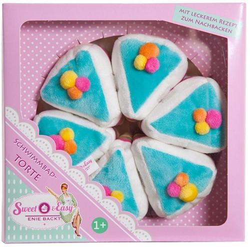 Sweet & Easy Pluche Taart 19x19cm