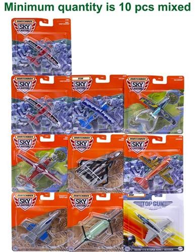 Mattel Matchbox speelgoedvliegtuig, Skybusters assorti