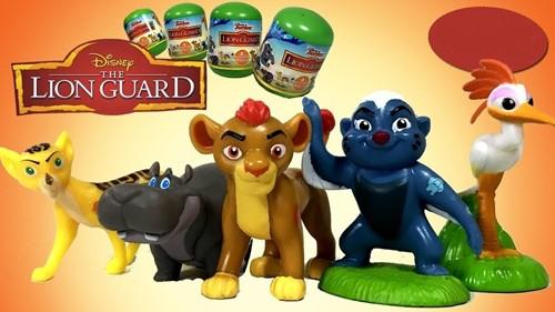 Blind Bag Disney Lion Guard verzamelfiguren in capsule assorti 7,5cm