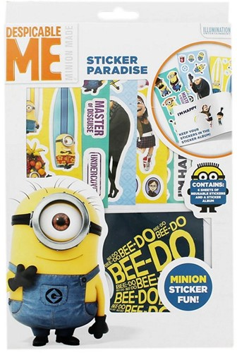 Minions Sticker Paradise