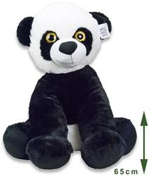 Pluche Panda zittend 65cm