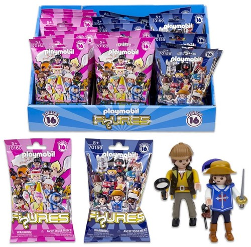 Playmobil Blindbag minifiguren assorti in display (24)
