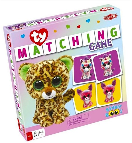 Goliath TY Beanie Boos Memory Matching Game