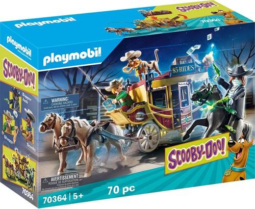 Scooby Doo! Speelset met accessoires, avontuur in het wilde westen