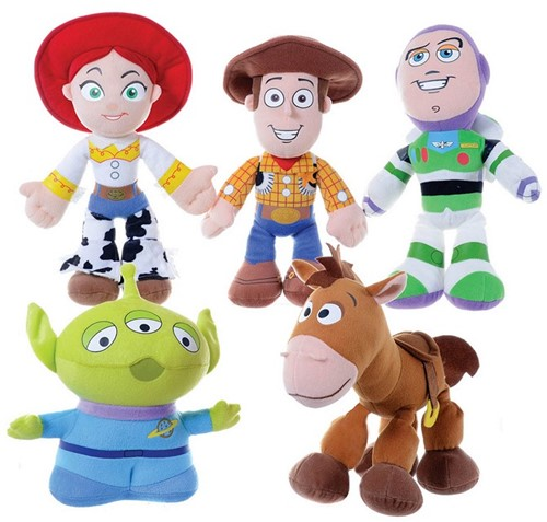 Toy Story Pluche 5 assorti 30cm