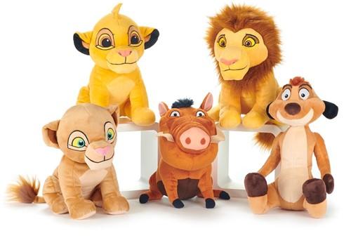 Disney Lion King Pluche 5 assorti 30cm