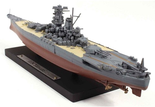 Schip Schaalmodel 1:1250 IJn Yamato DeAgostini-3