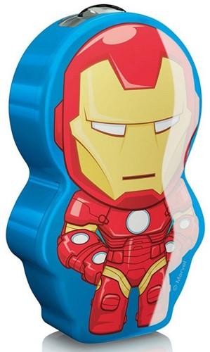 Marvel Iron Man LED Zaklamp (Philips) 5,5x9cm (zonder batterij)-2