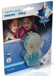 Disney Frozen Elsa LED Zaklamp (Philips) 5,5x9cm (zonder batterij)