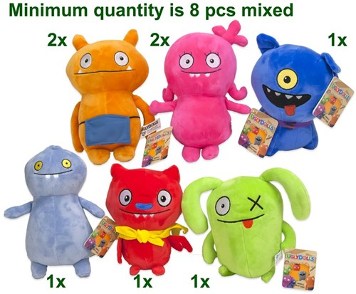 Ugly Dolls Pluche S2 Gift 6 assorti 22cm