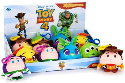 Disney Toy Story 4 Squeezster Bag Clip 5 assorti 9cm
