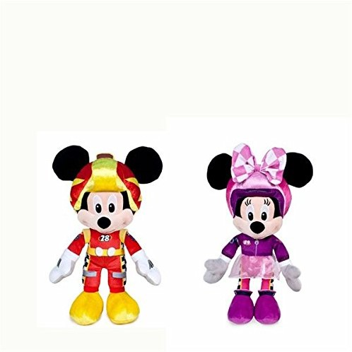 Disney Mickey Mouse pluche Roadster Racers 2 assorti 20cm