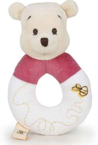 Disney Pooh Pluche Rammelaar 14cm