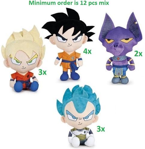 Dragon Ball Z Pluche 4 assorti 31cm