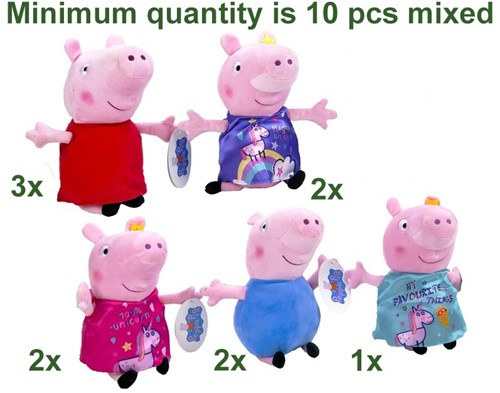 Peppa Pig Pluche Pig Its Magic S3 5 assorti 28cm