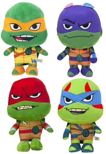 Teenage Mutant Ninja Turtles Pluche S3 assorti 28cm