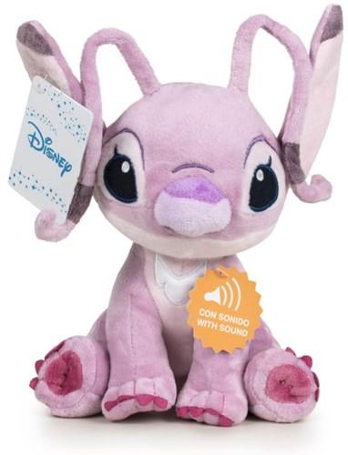 Disney Lilo & Stitch Pluche Angel met geluid 20cm
