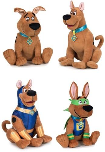 Scooby Doo Pluche S3 4 assorti 28cm