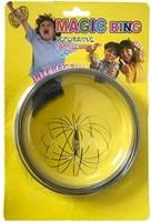 Swirly Loop Magische Ring RVS op blister 13cm