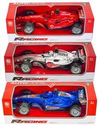 Race auto 1:12 Friction met licht en geluid 3 assorti 13x41cm
