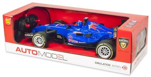 RC Race auto 1:12 Blauw 13x45cm
