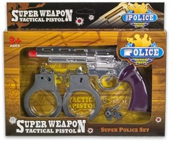 Cowboy Speelset Super Weapon 17x26cm