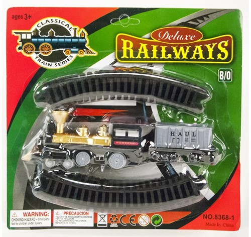 Treinset Deluxe Railways B/O 23x24cm