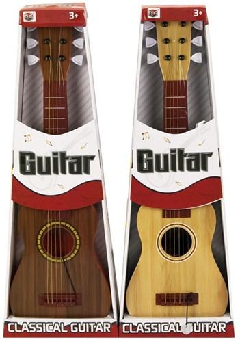 Gitaar Classic Guitar in doos 2 assorti 23x65cm