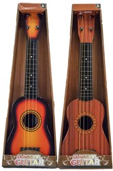 Gitaar Classic Guitar in doos 2 assorti 18x55cm