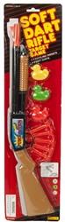 Geweer Soft Dart met toebehoren op kaart 14x54cm