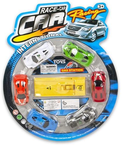 Auto Launcher + 6 autos 28x34cm