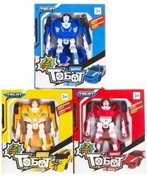 Verander Robot Super Tobot 3 assorti 16x19cm