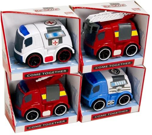 Auto Hulpvoertuigen Friction 4 assorti 10x12cm
