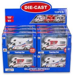 Die-Cast Camper Pull Back assorti in display 10x17cm