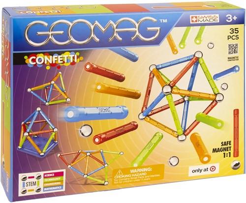 Geomag Confetti Target 35 delig 21x27cm