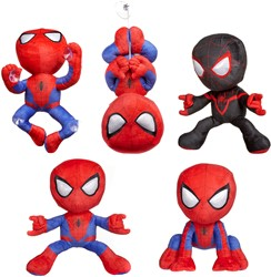 Spiderman Pluche S3 Gift 5 assorti 30cm