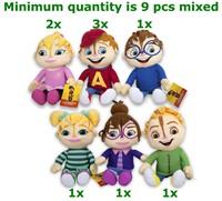 Alvin & the Chipmunks 6 assorti S2 21cm