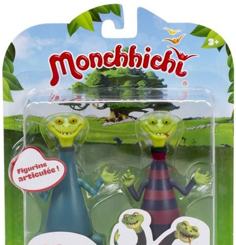 Monchhichi Figuren Blitz & Glitz